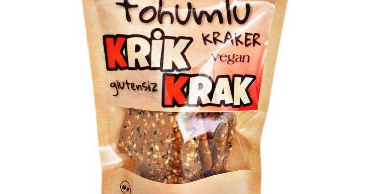 Doğal ve katkısız içeriğiyle açlık krizlerini önleyen Seren'in Doğal Dünyası tohumlu krakeri Krik Krak, damak çatlatan lezzetiyle sağlıklı beslenenlerin müdavimi oluyor.