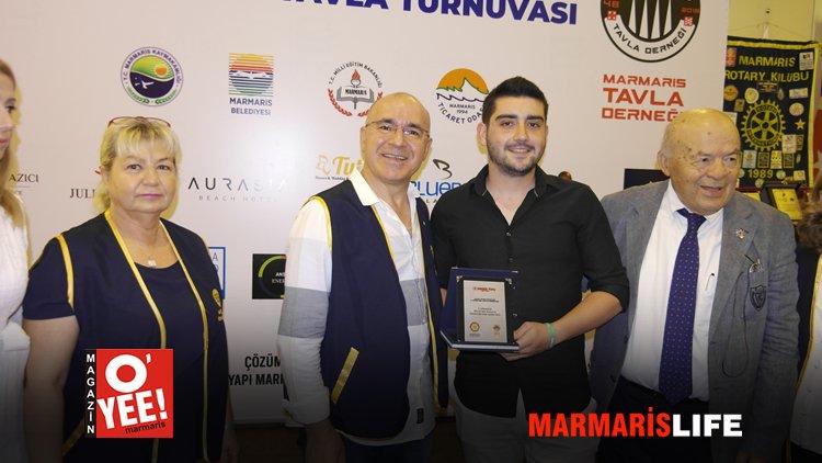 2. Altın Zar Tavla Turnuvası Sona Erdi
