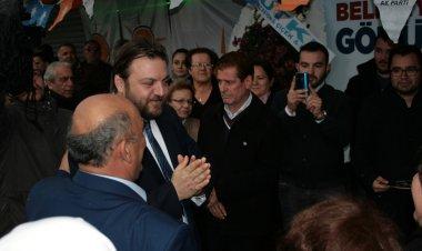 AK Parti Marmaris Belediye Başkan Adayı Serkan Yazıcı, seçim çalışmaları kapsamında ilk seçim ofisini İçmeler beldesinde açtı.