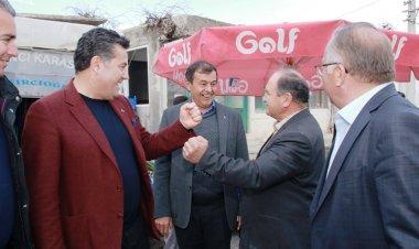 Başkan Kocadon Bencik ziyaretinin ardından ise Muğla