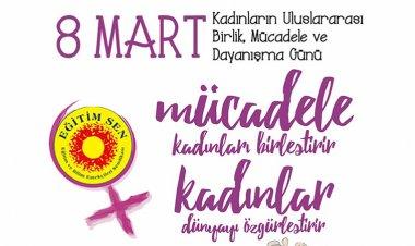 Egitim Sen 8 Mart Dünya Kadınlar Günü Etkinliği