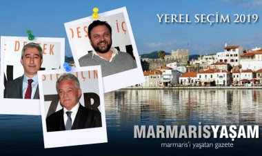 Hatalarıyla, Gaflarıyla Marmaris Belediye Başkan Adayları seçim 2019