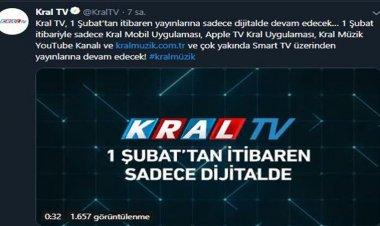 Kral TV kapanıyor!