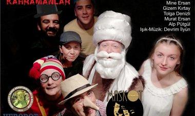Marmaris'in ilk tiyatrosundan çocuk oyunu