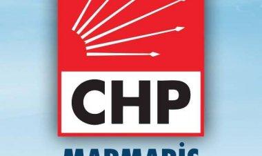 Marmaris CHP'den Son Dakika Açıklaması!