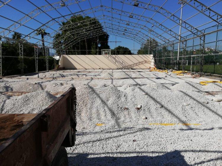 Marmaris'e Yeni Kapalı Spor Salonu