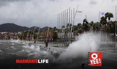 Marmaris'te Şiddetli Yağış Uyarısı!