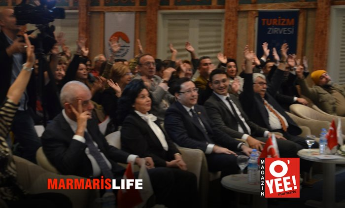 """Marmaris'te """"Turizm Zirvesi"""" Hüsranı!"""