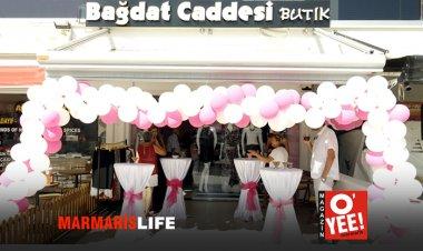 Marmaris'te Bağdat Caddesi Açıldı!