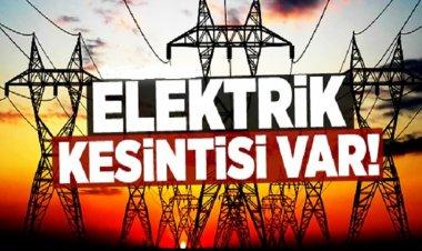 Marmaris'te Pazar Günü Elektrik Kesintisi