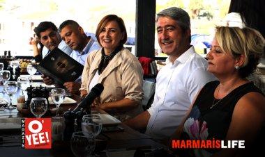 Mehmet Oktay 21 Ekim Gazeteciler Bayramı'nda Gazetecileri Ağırladı