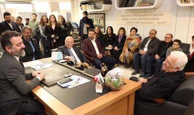 Osman Gürün, Muğla Gazeteciler Cemiyetini ziyaret etti