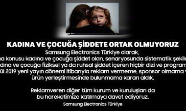 Samsung'dan Örnek Davranış