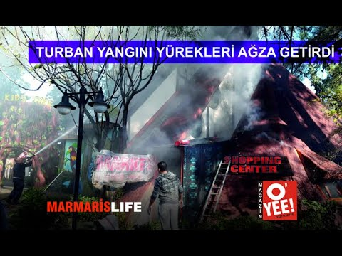 Turban'daki Yangın Yürekleri Ağza Getirdi!