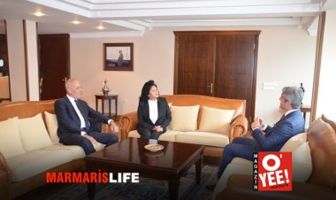 Vali Civelek'ten Başkan Oktay'a Ziyaret