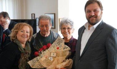 Yazıcı'dan 56 Yıllık Evli Çifte Ziyaret
